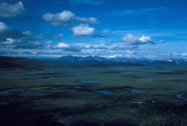 Zane Hills and Koyukuk River Picture