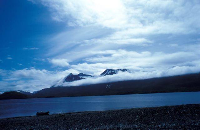 Kodiak Mountains and Beach Picture