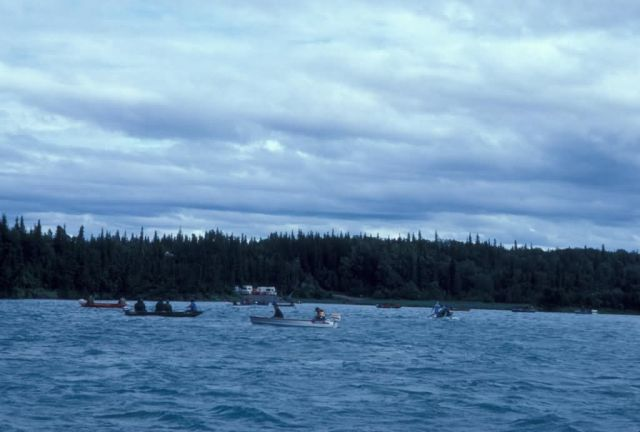 Kenai River Boating and Fishing Picture