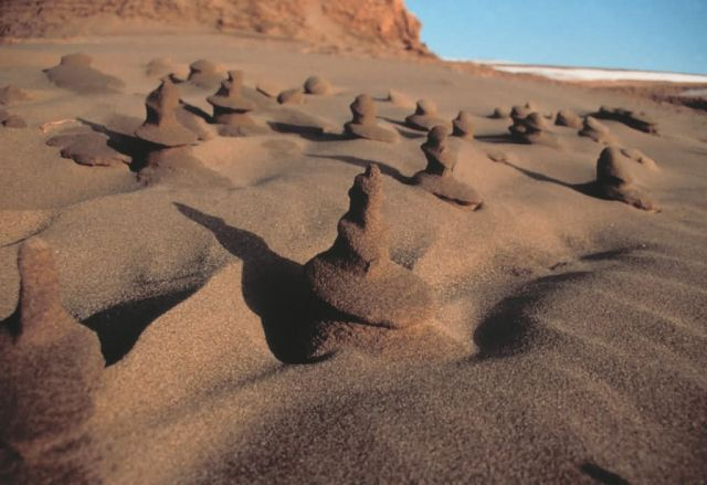 Sand Formations Around Cape Peirce Picture