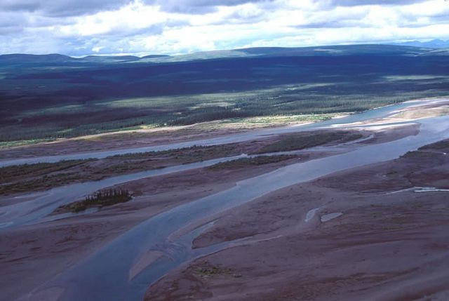 Noatak River Above Noatak Village Picture