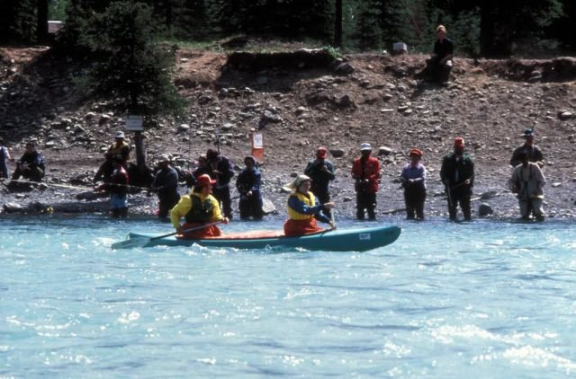 Kayaking and Combat Fishing on the Kenai River Picture