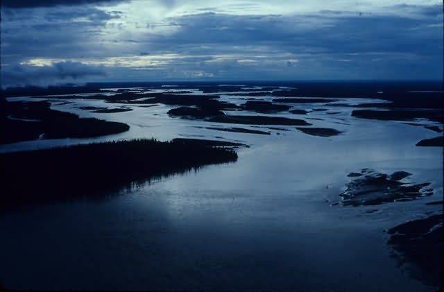 Yukon River in low light Picture