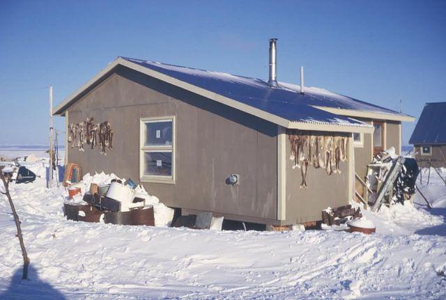 Selawik Village House Picture