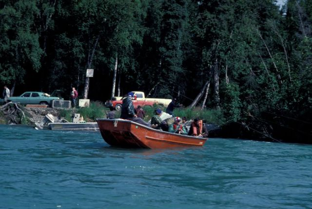 Fishing on the Kenai River Picture