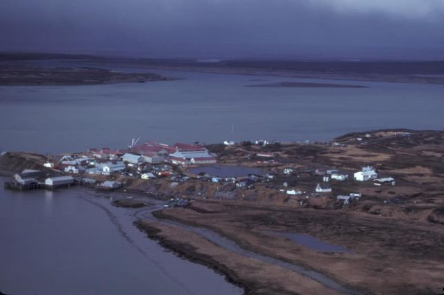 Egegik Village on the Alaska Peninsula Picture