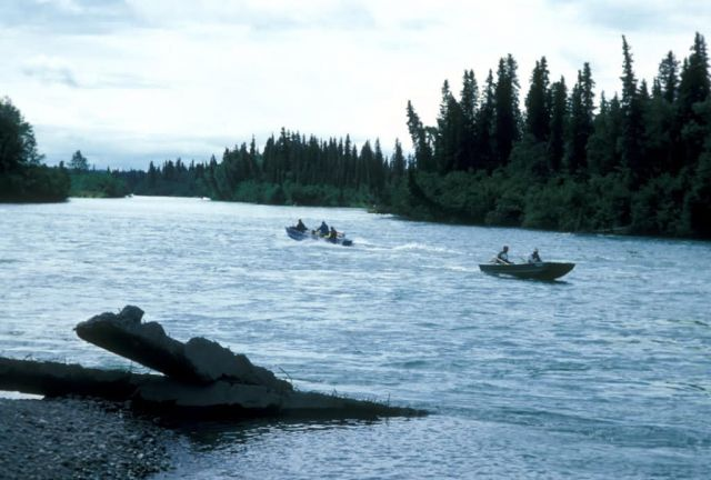 Fishing and Boating on the Kenai River Picture