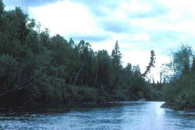 Kanuti River Boating Picture