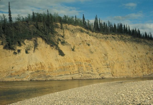 Lower Coleen River Bluffs Picture