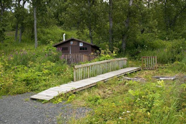 USFWS Uganik Lake Recreation Cabin Picture