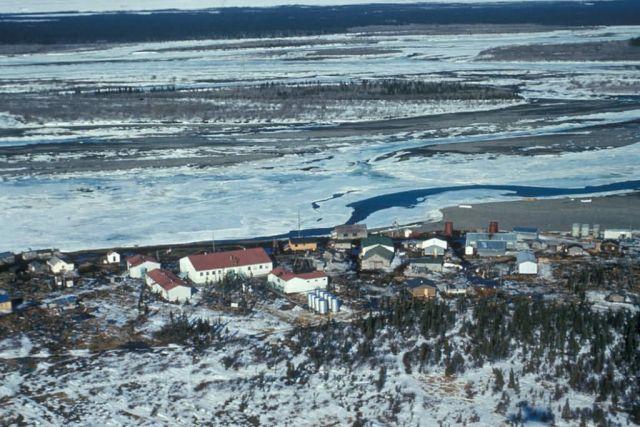 Noatak Village on the Noatak River Picture