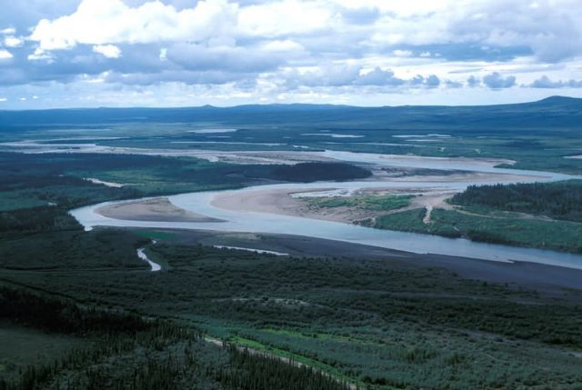 Noatak River Flats - Aerial View Picture