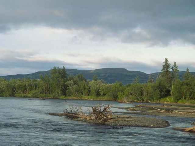 Kwethluk River, Yukon Delta National Wildlife Refuge Picture