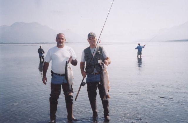 Silver Salmon (Coho) Sport Fishing in Southcentral Alaska Picture
