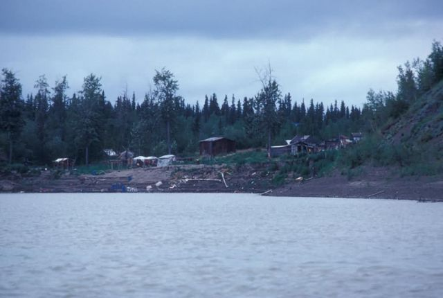 Yistletaw Village on the Yukon River Picture