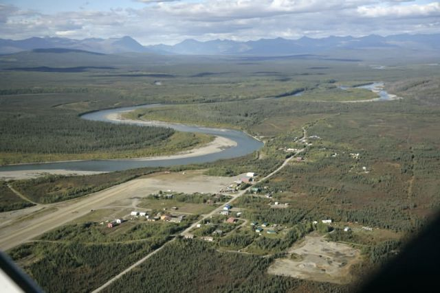 Allakaket on the Koyukuk River Picture