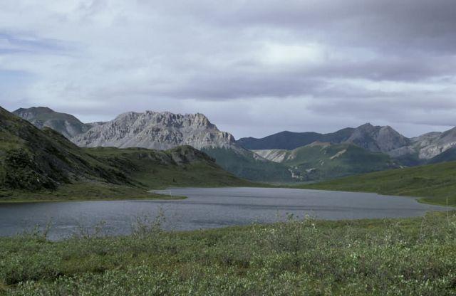 Portage Lake in Junjik River Valley Picture