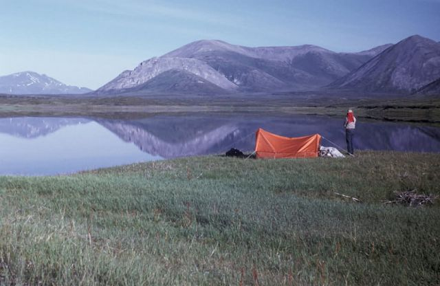 Camp Above Sheenjek River Picture