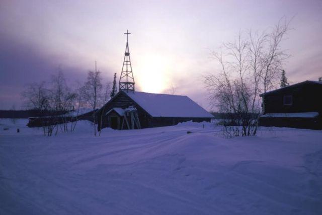 Huslia Episcopal Church Picture
