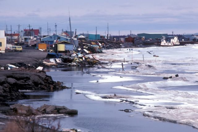 Bethel and the Kuskokwim River Picture