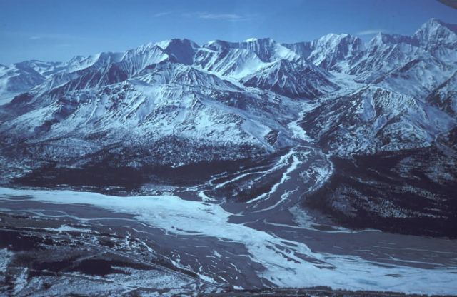 The Delta River and the Alaska Range Picture