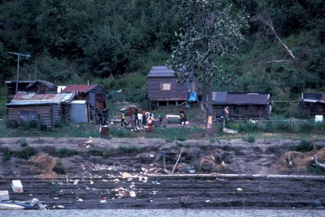 Yistletaw Village on the Yukon River Picture