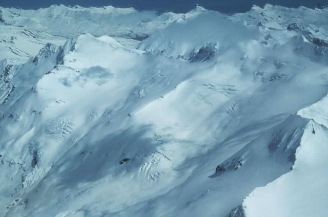 Aleutian Mountain Range Summit Picture