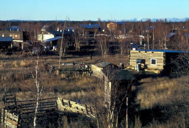 Huslia Village Picture