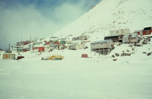 Little Diomede Island Village Picture