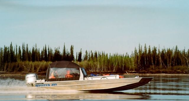 Boating the Yukon River, USFWS Picture
