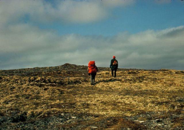 Agattu Island hikers Picture