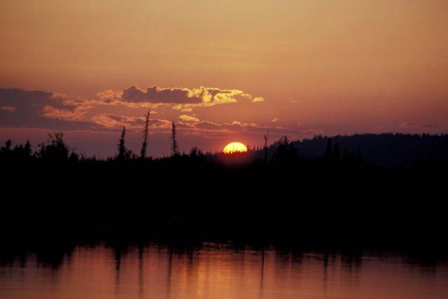 Innoko Refuge Sunset Picture