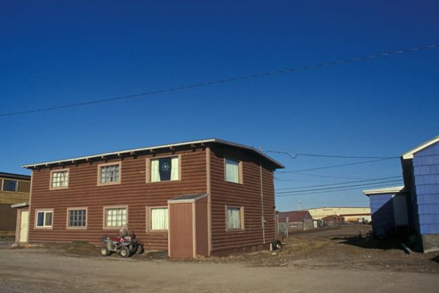 Selawik Log Building Picture