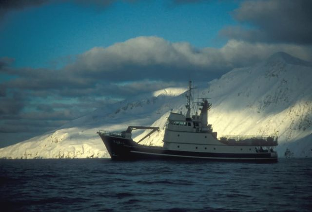 MV Tiglax in Etienne Bay, Attu, Aleutian Islands Picture