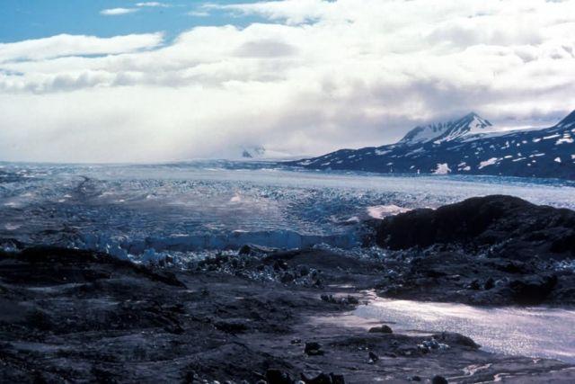 Glacier in Kenai National Moose Range Picture