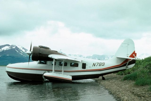 Grumman Goose at Becharof Lake Picture