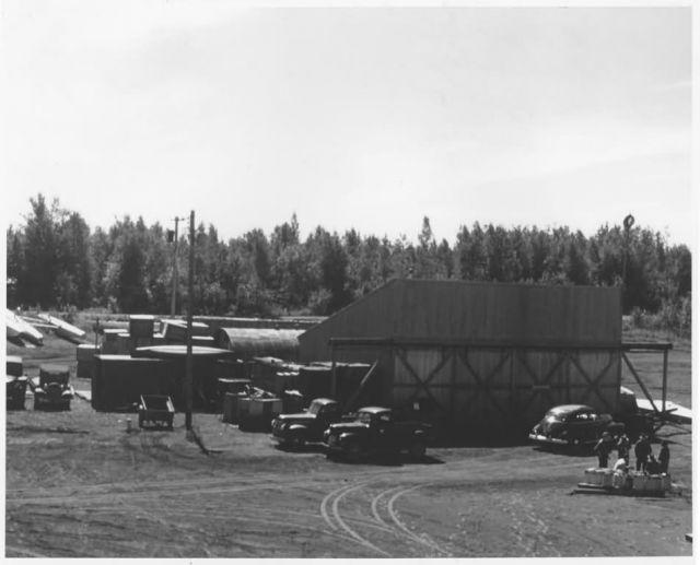 Original Hangar Facilities Lake Hood, Anchorage Picture
