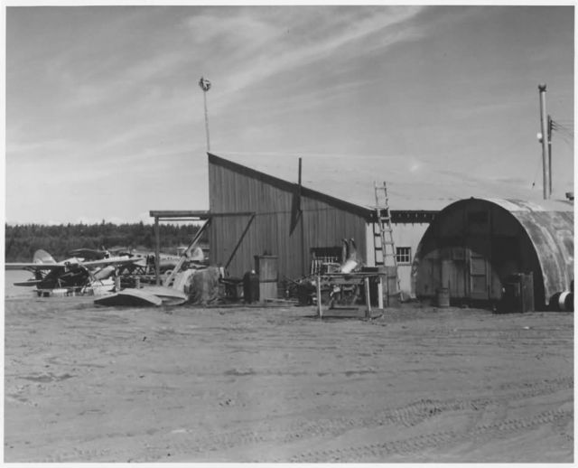 Lake Hood Airplane Base FWS Anchorage Picture