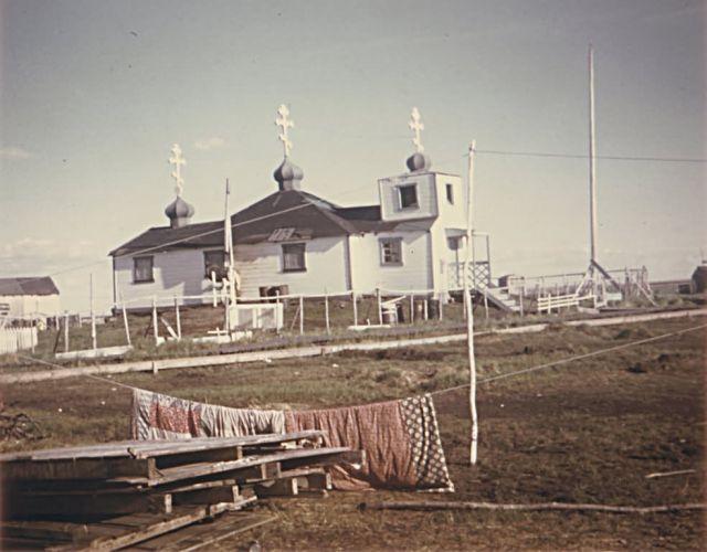 Russian Orthodox Church in Kasigluk Picture