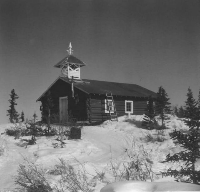 Episcopal Church at Arctic Village Picture