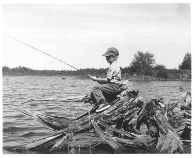 Boy Fishing Picture