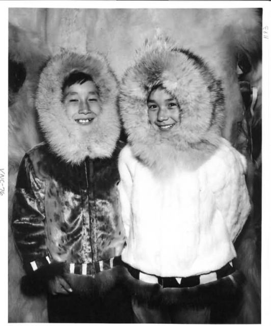 Nome Children in their Parkas Picture
