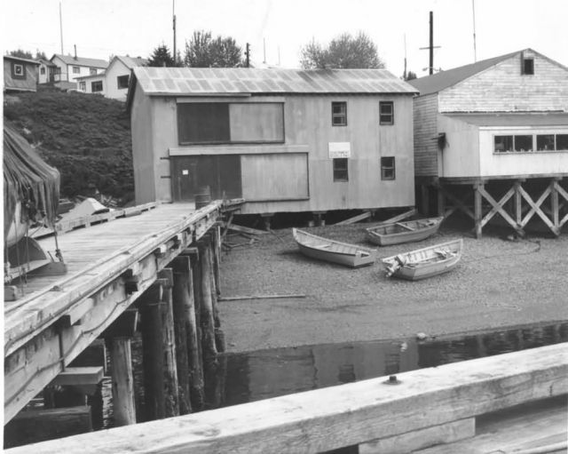 Dock and Warehouse, Kodiak Picture
