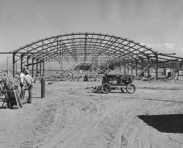 Hangar Construction in Anchorage Picture