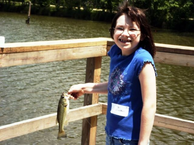 WOE130 Largemouth Bass caught at Occoquan Bay NWR Picture