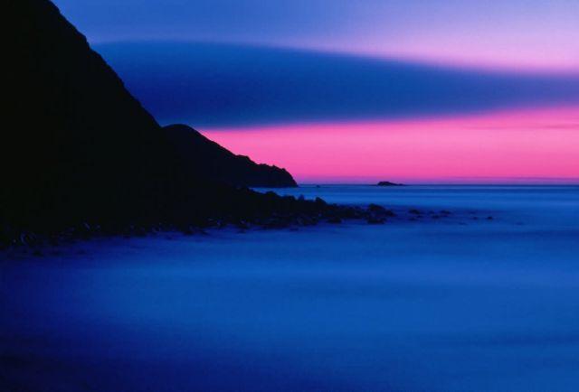 WO2324 Sunset, Buldir Island, Alaska Picture