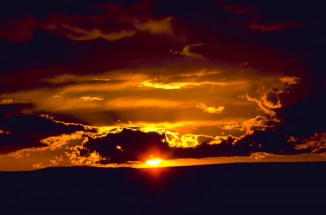 Carlsbad Caverns National Park Sunset Picture