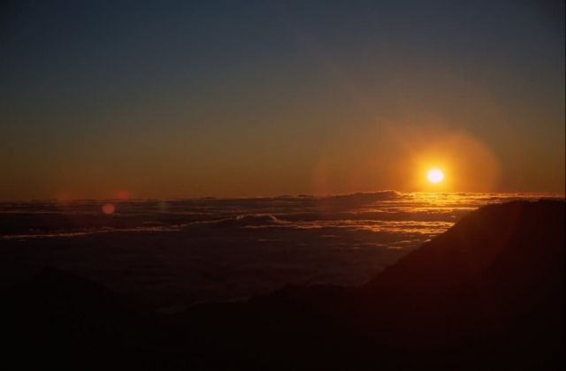 Sunrise over Haleakala National Park Picture