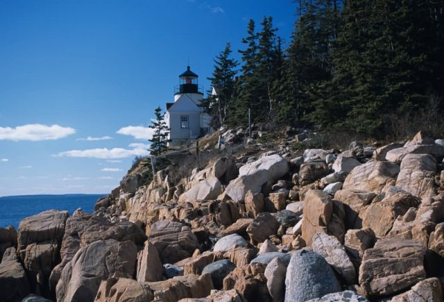 Bass Harbor Light House Picture