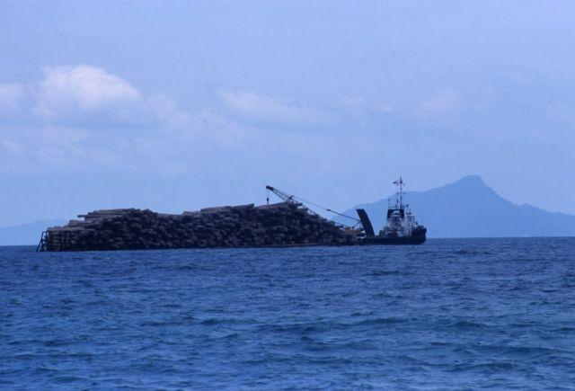 Logging Ship Picture